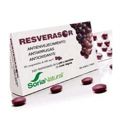 Elevada capacidad antioxidante. Antienvejecimiento.  Ingredientes: Jugo deshidratado de la piel y semillas de uvas negras (74