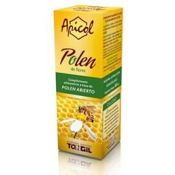 Ingredientes activos/frasco: Polen Abierto 35 g en una base de Aroma natural de vainilla y fructosa.
