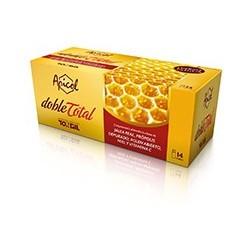 Ingredientes activos/vial: Jalea real liofilizada (equivalentes a 2000 mg de Jalea Real fresca)670 mg Extracto de Própolis De