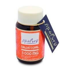 Ingredientes activos/cápsula: Polvo de Coral Marino500 mg -que aporta Calcio 170 mg (21,25% VRN) -que aporta Magnesio 7,5 mg