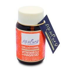 Ingredientes activos/cápsula: Polvo de Coral Marino 500 mg -que aporta Calcio 170 mg (21,25% VRN) -que aporta Magnesio 7,5 m