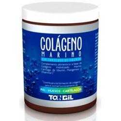 Ingredientes activos/cucharada de 10,5 g: Colágeno Hidrolizado Marino5,5 g Cartílago de Tiburón262 mg Vitamina C (ácido L-as