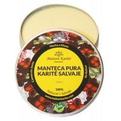 Manteca de Karité Salvaje Artesana Virgen procedente directamente de una Cooperativa en Ghana que engloba a 22.000 mujeres. 100