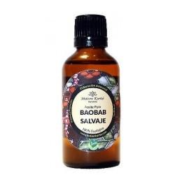 El oro milenario de la sabana africana.  El Aceite puro de Baobab Salvaje procede del prensado en frío de las semillas de su