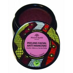 Ritual ancestral exfoliante y anti-manchas.  Nuestro peeling facial está inspirado en una ritual milenaria de las sabanas afr