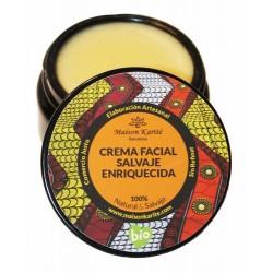 Hidrata, nutre y protege la piel del rostro. Sin agua.  Cuidado Facial de Día o Noche rico en antioxidantes, carotenos, provi