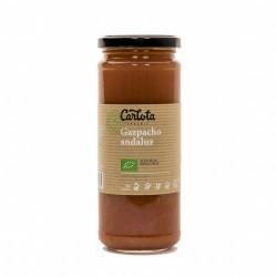 GAZPACHO ANDALUZ BIO 450 ML CARLOTA ORGANIC DESCRIPCIÓN DEL PRODUCTO El gazpacho andaluz Carlota Organic es un plato fresco,