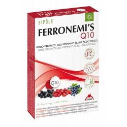 Aporta hierro, ácido fólico, vitamina C, B6, B12 Y Coenzima Q10  INGREDIENTES: • Jugo de frutos de Escaramujo (Rosa canina L