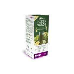 CARACTERÍSTICAS PODER VERDE      Fusión única de 35 extractos de frutas, verduras y plantes con propiedades complementarias
