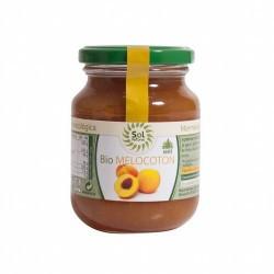 DESCRIPCIÓN DEL PRODUCTO MERMELADA DE MELOCOTON CON AGAVE BIO 330 G SOL NATURAL   Ingredientes: *Melocotón, *Sirope de Ágave,