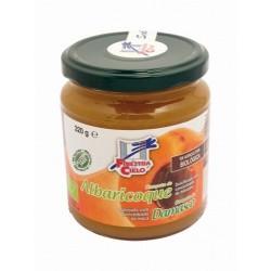 Más información Compota de albaricoque procedente de agricultura ecológica certificada. Obtenida de la cocción de la fruta y s