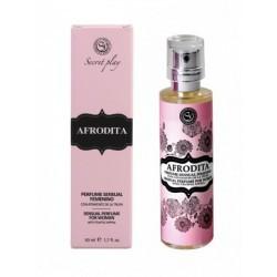 PERFUME SPRAY AFRODITA, 50 ml. Código del Artículo: 3172  Descripción: La gama de perfumes con atrayente sexual de trufa qu