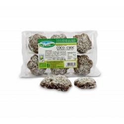 ngredientes Harina integral de trigo*, sirope de trigo*, cobertura de chocolate* 20% (azúcar de caña*, pasta de cacao*, mantec