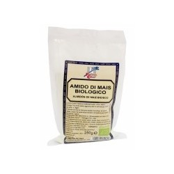 Almidón de maíz procedente de agricultura ecológica. Ideal para espesar puddings, cremas, salsas o sopas. Se puede utilizar tam