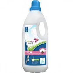 CO DETERGENTE LIQUIDO PARA ROPA LAVADORA     Detergente líquido ecológico para el lavado a máquina de todo tipo de ropa, bl