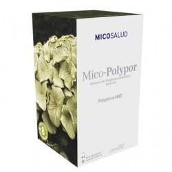 Formato (envase libre de parabenos): 70 cápsulas (100 % vegetales) de 495 mg  Ingredientes (solo setas ecológicas): extracto