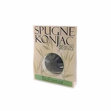 Descripción: La esponja de baño konjac negra es un producto para el cuidado y la limpieza de la piel 100% vegetal y natural; o