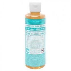 El Jabón Líquido de Castilla del Dr. Bronner's Neutro no contiene ninguna fragancia, sustituyéndolas con el doble de aceite de