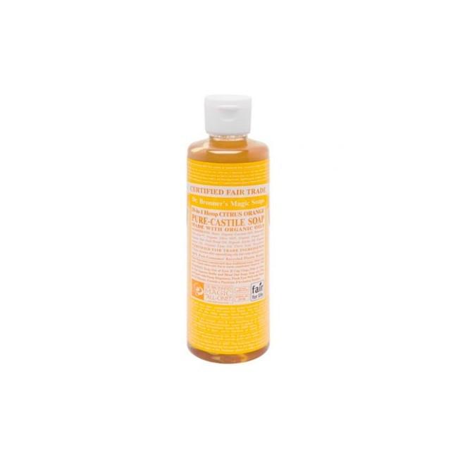 Nada huele más fresco que el aceite orgánico de cítricos. Los aceites orgánicos de naranja, limón y lima del Jabón Líquido de C