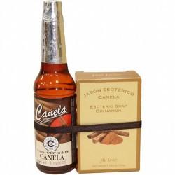 Pack Agua de Canela (70 ml) + Jabon Canela