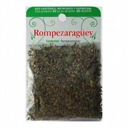 El Rompezaraüey se utiliza para hacer rituales cuyo deseo principal sea alejar la negatividad que provoca mala suerte y para qu