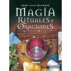 Libro Magia Rituales y Oraciones(Susaeta Tikal ) Jose luis Alcaraz