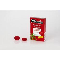 Indicaciones/Acción/Ventajas: Caramelos sin azúcar con sabor a arándano rojo elaborados con una combinación de 13 hierbas suiz