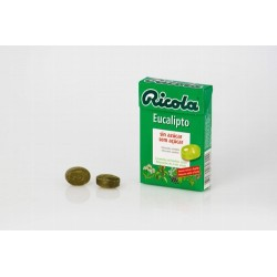 Indicaciones/Acción/Ventajas: Caramelos sin azúcar con sabor a eucalipto elaborados con una combinación de 13 hierbas suizas q