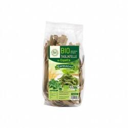 Ingredientes: *Harina Integral de ESPELTA, *Espinacas 4%, Agua.  * Ingredientes de la agricultura ecológica        Inf