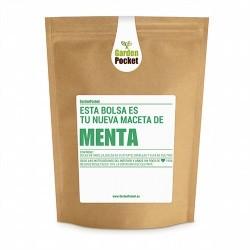 Menta (Mentha piperita). Le aporta un sabor único a nuestras comidas, ya sean entrantes, platos principales o postres.Es una pl