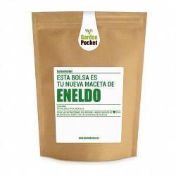 Eneldo (Anethum graveolens), es una hierba muy aromática, de olor anisado y alimonado.Con el eneldo fresco se pueden aromatizar