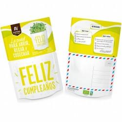 ¿Qué contiene?: sustrato bio, semillas ecológicas de girasol, mezclador e instrucciones de cómo cultivar. En 10-14 días podrá