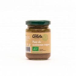 Más información Paté de aceitunas negras con aceite de semillas de girasol y aceite de oliva virgen extra. Sin ningún aditivo