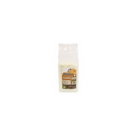 Harina de trigo khorasan KAMUT® de cultivo ecológico elaborada en atmósfera protegida para asegurar su conservación. Útil en la