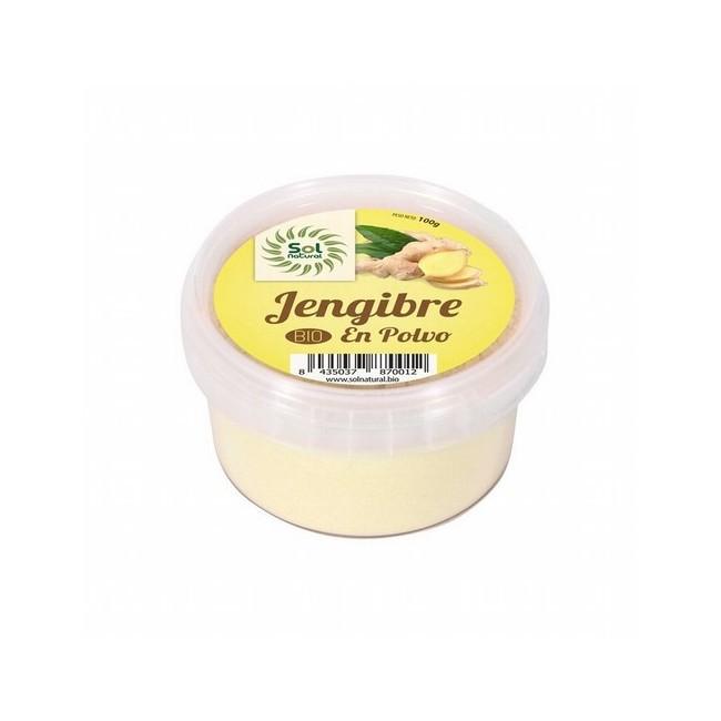 Ingredientes: *Jengibre en Polvo. * Ingredientes de la agricultura ecológica     Información Nutricional (100 g):  Valor
