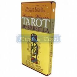 Tarot Marsella 22 Arcanos (edicion lujo dorada) (Daniel Rodes - Encarna Sanchez) (FR) (Instrucciones en FR y SP) (le mat)