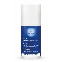 Formulado con aceites esenciales naturales con propiedades antimicrobianas, este desodorante en formato roll-on neutraliza y pr