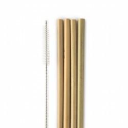 La humilde paja de bambú: ¡se desechan anualmente más de 8,5 mil millones de pajitas! Con nuestra paja de bambú reutilizable, e
