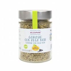 GOMASIO CON ALGAS BIO 150 G ALGAMAR *Certificado Ecológico Ingredientes: sésamo, alga Nori atlántica y sal marina atlántica.