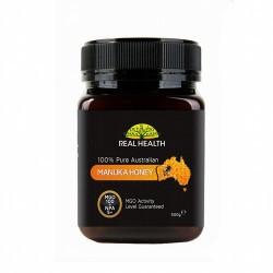 MIEL MANUKA 100 MGO 500G REAL HEALTH MGO 100/NPA5+: esta miel contiene al menos 100 mg de ingrediente activo por kilo  La mi