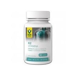 Complemento alimenticio con vitamina K2 y edulcorante xilitol  50 und.
