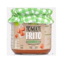 Plato tradicional base de la cocina Mediterránea, elaborado con tomates ecológicos, cocinado con aceite de oliva virgen extra