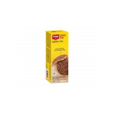 Galleta digestive con chocolate con leche sin gluten El corazón de la galleta digestive sin gluten con un perfecto toque de ch