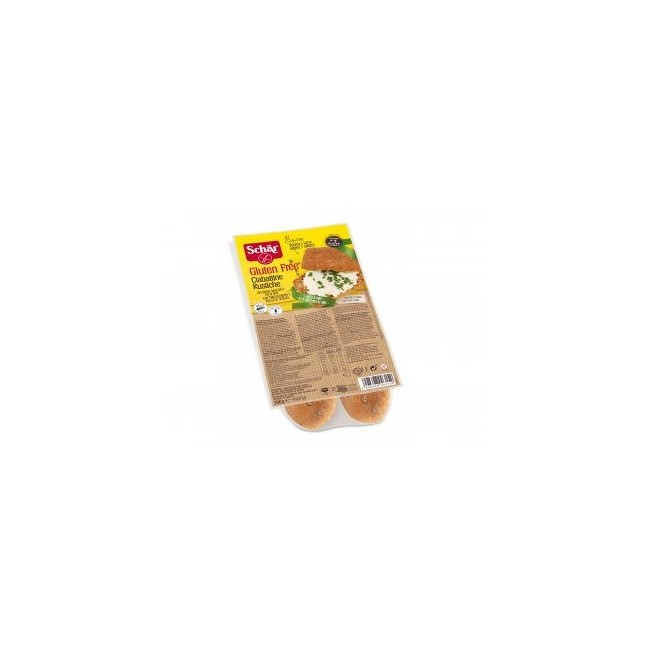 Panecillos de chapata con semillas para hornear sin gluten La primera Ciabatta integral para hornear. Contiene linaza, semill