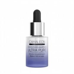 Concentrado de ácido hialurónico con doble acción antiarrugas que mantiene la piel hidratada durante 24 horas y que rellena las