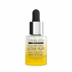Concentrado de vitamina C con increíble poder antioxidante y revitalizante que ilumina la piel y reduce la pigmentación. Al no
