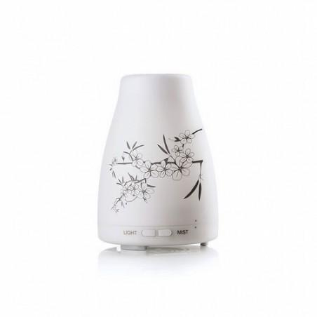 Ocelia: Difusor ultrasónico El difusor ultrasónico Ocelia combina el diseño con el bienestar de la difusión aromática para cre