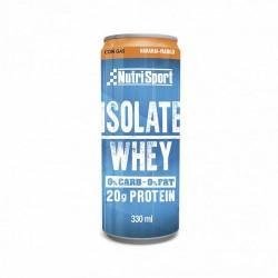 NutriSport lanza ISOLATE WHEY, una nueva bebida carbonatada a base de aislado de suero lácteo que destaca por su alto contenido