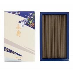Eiju Jinkoh - Larga vida Poderoso aroma de agar con un toque ligeramente picante de pachuli armonizado con sándalo. Desde la a
