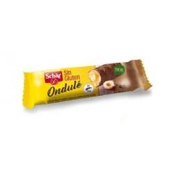 Crujiente barquillo sin gluten relleno de crema de avellana y cubierto por una deliciosa capa de chocolate Si hay un snack sin